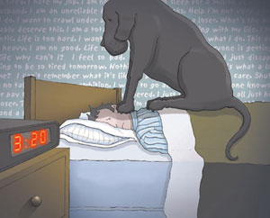 'Living With A Black Dog'