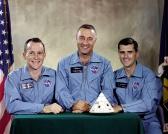 Official crew photograph of Apollo 1 crew.