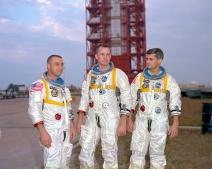 Apollo 1 crew at Launch Complex 34