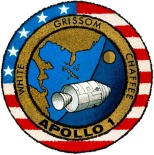 The official Apollo 1 Mission Emblem.