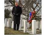 NASA Administrator at Arlington National Cemetery