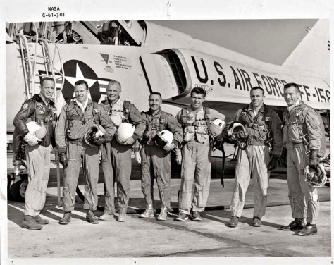 The 'original' Mercury 7 Astronauts..