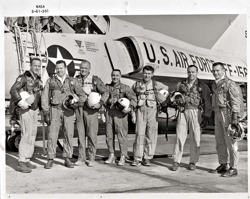 The 'original' Mercury 7 Astronauts..