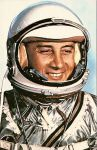 Virgil I. Grissom in his Gemini 3 spacesuit. Image Courtesy of NASA.