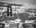 Aerial view of Launch Complex 34 with with Saturn IB being prepared for launch in 1963.