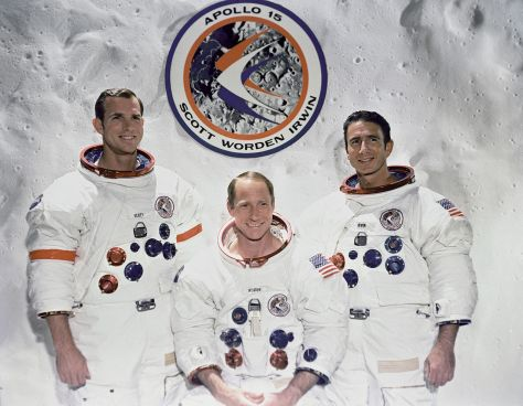 Apollo 15 Official Crew Portrait