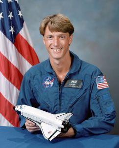 Astronaut C. Michael Foale.