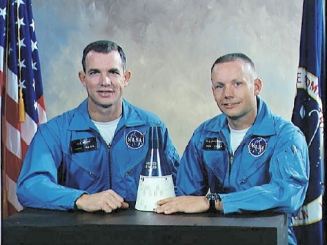 Official Gemini 8 NASA portrait.
