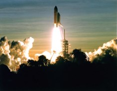 STS-60 Launch from John F. Kennedy Space Center