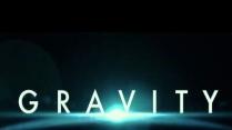 Film poster for 'Gravity'.