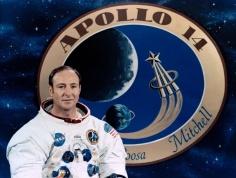 Apollo 14 astronaut Edgar Mitchell.