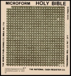 The microfilm lunar Bible Edition